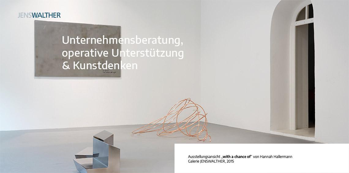 JENSWALTER • Unternehmensberatung, operative Unterstützung & Kunstdenken